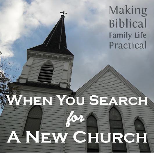When You Need To Find A New Church - MBFLP 164 - Ultimate Homeschool Radio Network