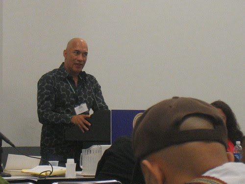 Cyrus Cassells at the Black Nature panel