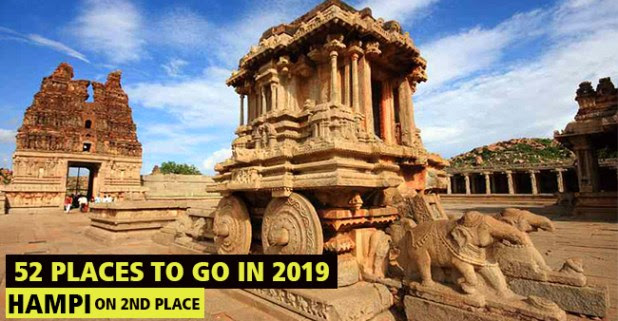 Proud Moment For India As Hampi, Karnataka Stands On 2nd In NYT's 52 Places To Go In 2019