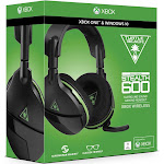 Turtle Beach Ear Force Stealth 600X Wireless Over-Ear Headset - Omni-Directional - Black/Green