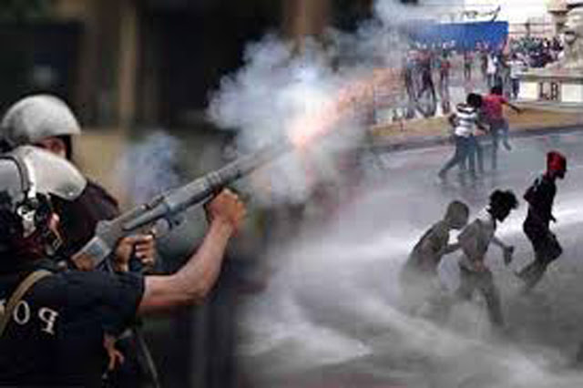 Tear gas, water cannons used to disperse IUSF protestors