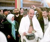 Austrians leaving on the haj