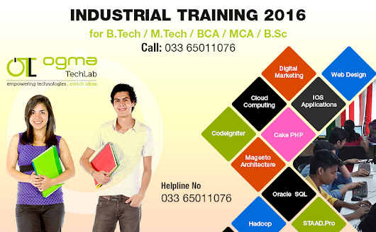 Best 6 months LIVE Projects Based Industrial Training - Ogma Techlab