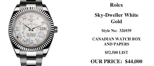 Pre-owned Rolex for Sale Toronto, Used Rolex Watches Buy, Sell, Trade