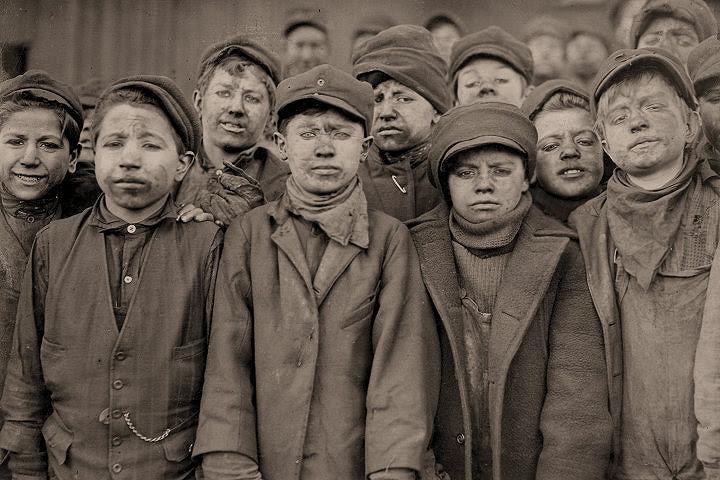 Resultado de imagen de lewis w hine child labor