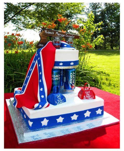 Redneck wedding cake   Cake   Pinterest   Jars of sweets