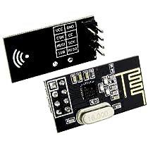 2pcs nRF24L01+ 2.4GHz Wireless Transceiver Arduino Compatible