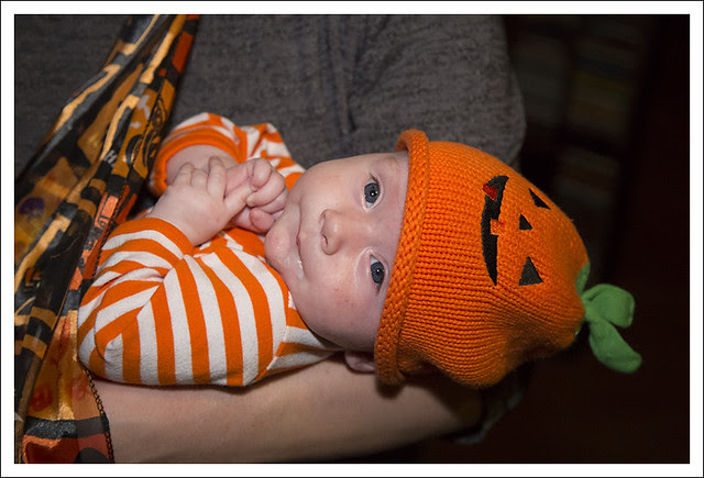 Madeleine On Halloween 2