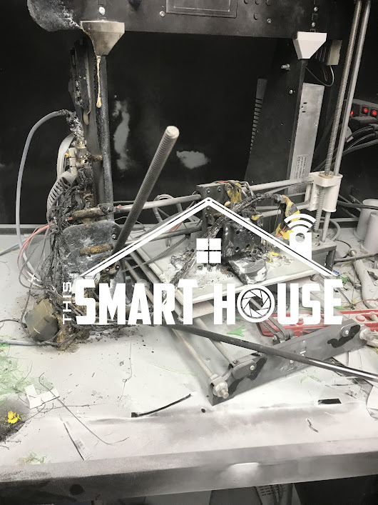 Don't burn your house down 3D Printing. A Cautionary Tale | This Smart House