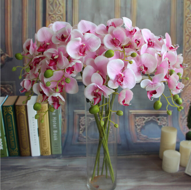 Gnw Fabric Flowers Wholesale Artificial Flowers Orchid