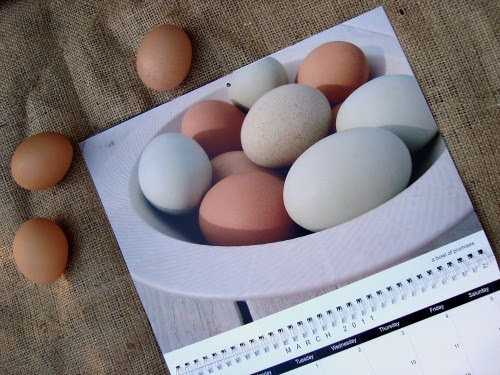 calendar eggs