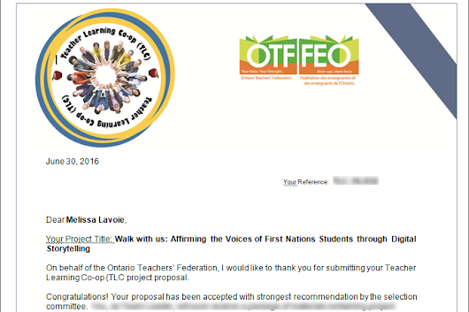 """Walk With Us"" receives funding from OTF!"