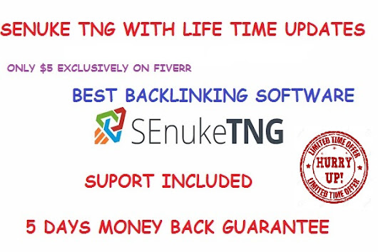 jipeanu : I will senuke TNG Pro  With Life Time Updates for $5 on www.fiverr.com