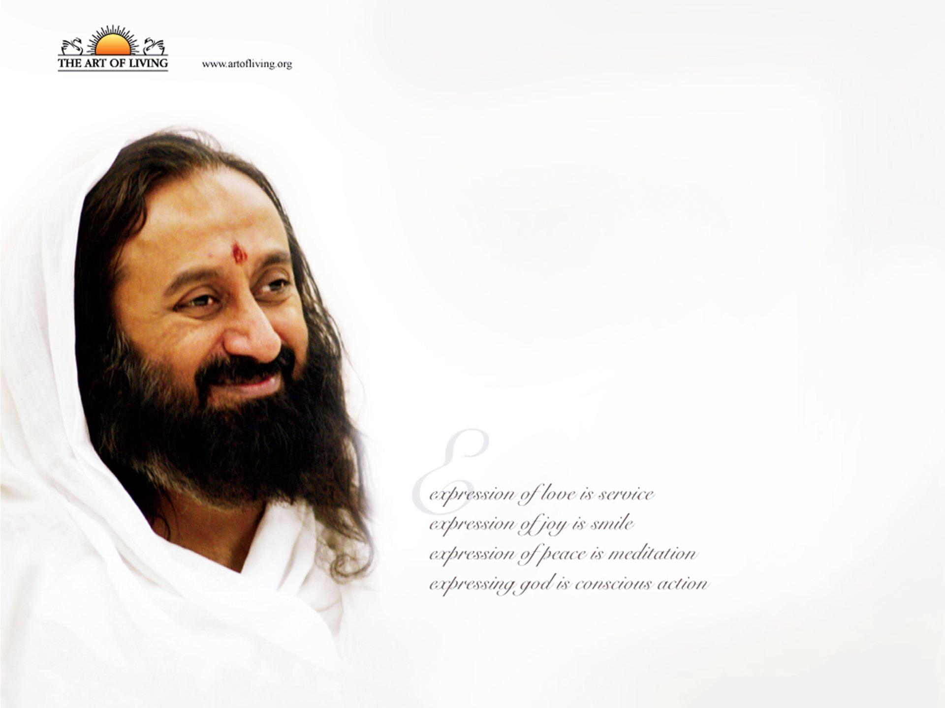Sri Sri Ravi Shankar Quotes Wallpaper 00866 Baltana