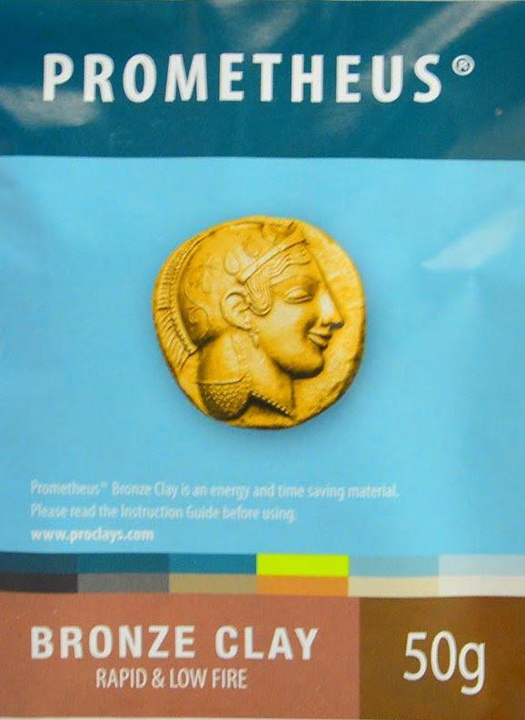 s44950 Metal Clay -  Prometheus - Bronze Clay (50 grams)