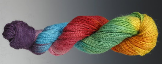 How to Hand Paint Yarn, Fiberartsy.com