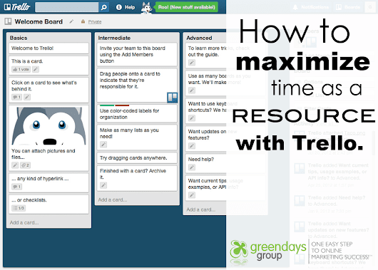 Use Trello to Maximize Time Management & Digital Marketing Plans
