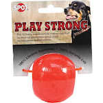 Spot Play Strong Dog Toy, Rubber Ball, Small