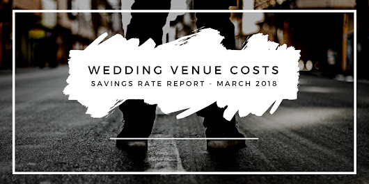 Time in the Market savings rate report - March 2018 - wedding venue costs