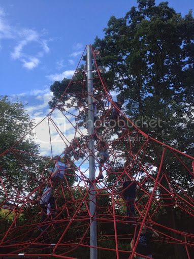 web climbing frame