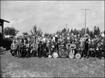 Tin Can Tourists' band: Sarasota, Florida (ca. 1940)