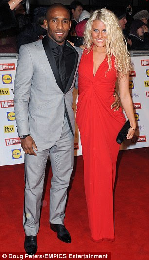 Footballer Jermain Defoe (pictured with ex Danielle Armstrong in 2012) found himself at the centre of controversy after placing a job advert for an 'Executive Personal Assistant' on a recruitment site