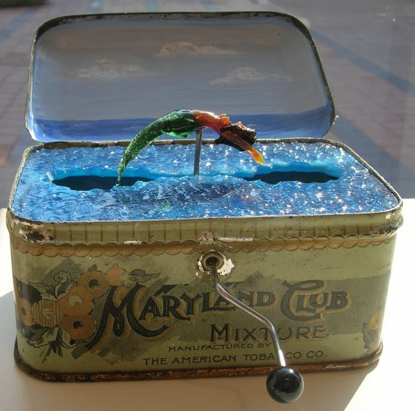 Mermaid Box by Carmen Lozar