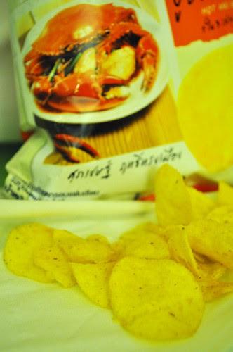 chilli crab chips