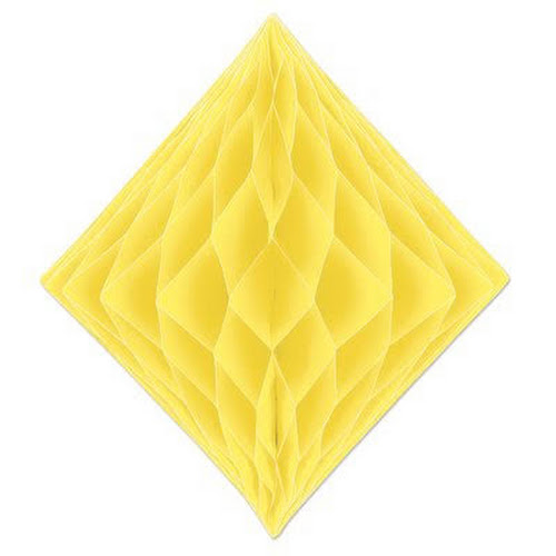 Google Express - Diamond Wall Décor The Beistle Company Color: Yellow