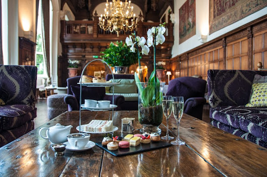 Danesfield House Hotel Afternoon Tea - @AboutLondon Laura