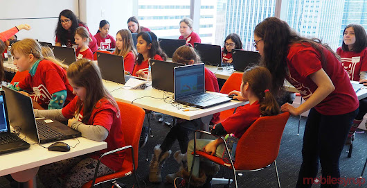Girls Make Games aims to empower young girls through game design