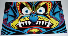 Topps Blockhead - #4 The Witch Doctor