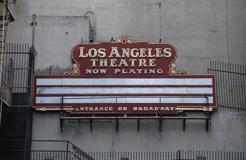 Los Angeles Theatre from Sixth Street