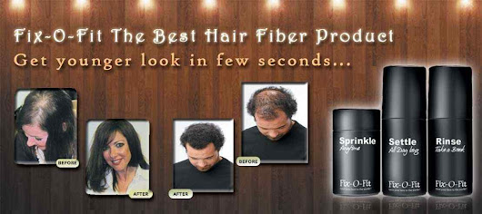 Stop hair loss with hair fiber toppik and nanogen products