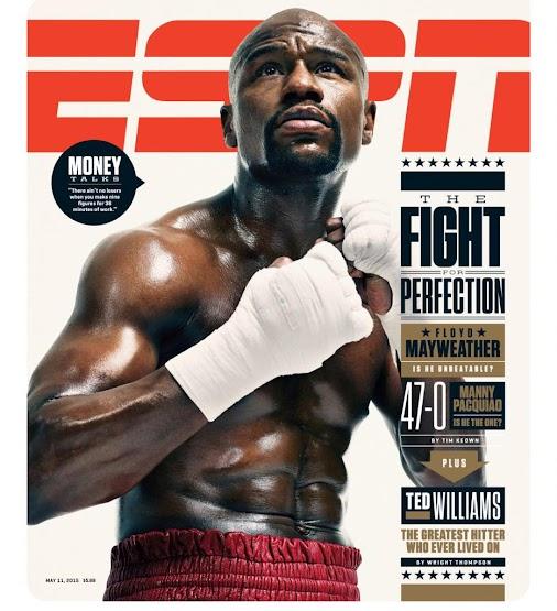 !CYM!: +Floyd Mayweather  #ESPNMagazine #FloydMayweather #boxing #tbe