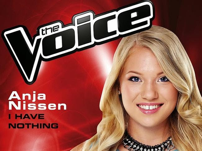 Winner Anja Nissen was outsold by some of her rivals on iTunes.