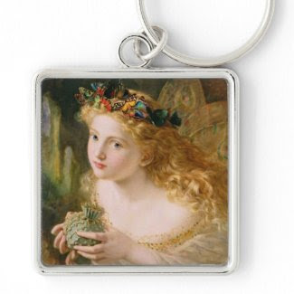 Cludia by Sophie Anderson Key Chains
