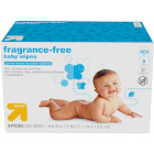 up & up Baby Wipes Refill Pack, Unscented - 800 count