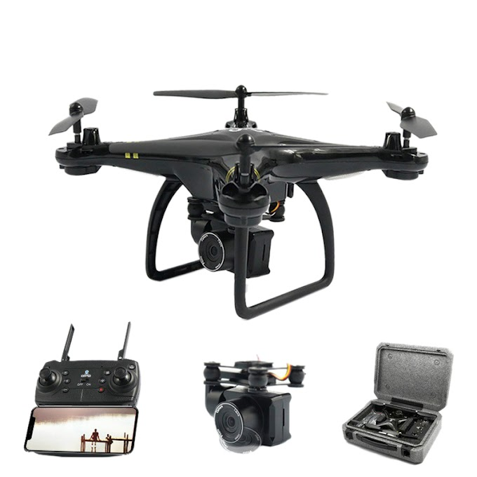 Global Drone Gw168 Gps Remote Control Airplane With Camera Hd 1080p Rc Plane Wifi Fpv Quadrocopter Altitude Hold Long Tim