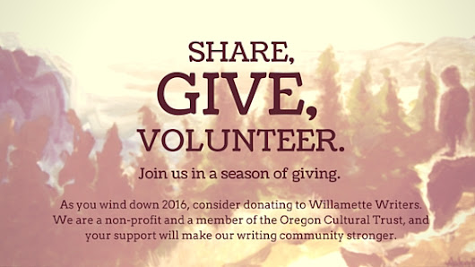 Join in the giving - Willamette Writers