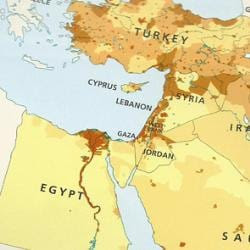Where's Israel? (Courtesy of the Tablet.)