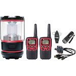 Midland - X-TALKER 26-Mile, 22-Channel FRS/GMRS 2-Way Radios (Pair) - Red/Black