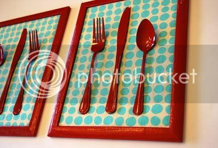 tableware set artwork