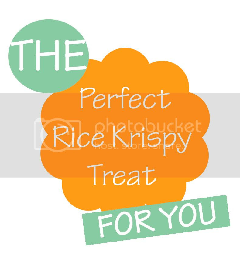 The Perfect Rice Krispy Treat for You!
