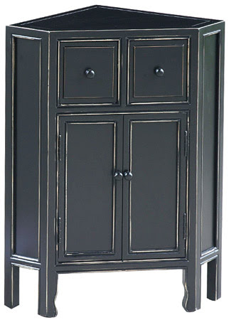 Ming Corner Cabinet