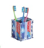 Upcycled Toothbrush Holder