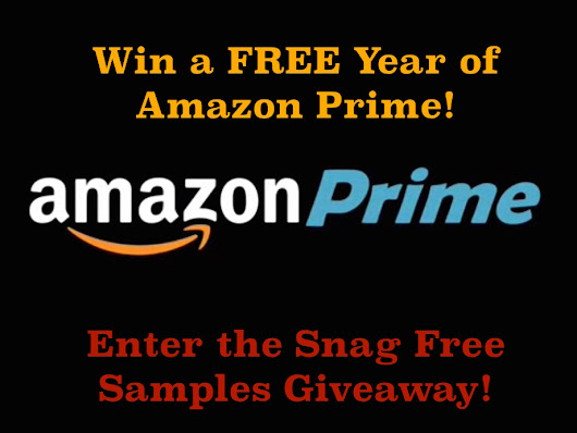 1 Year Amazon Prime Giveaway from Snag Free Samples!