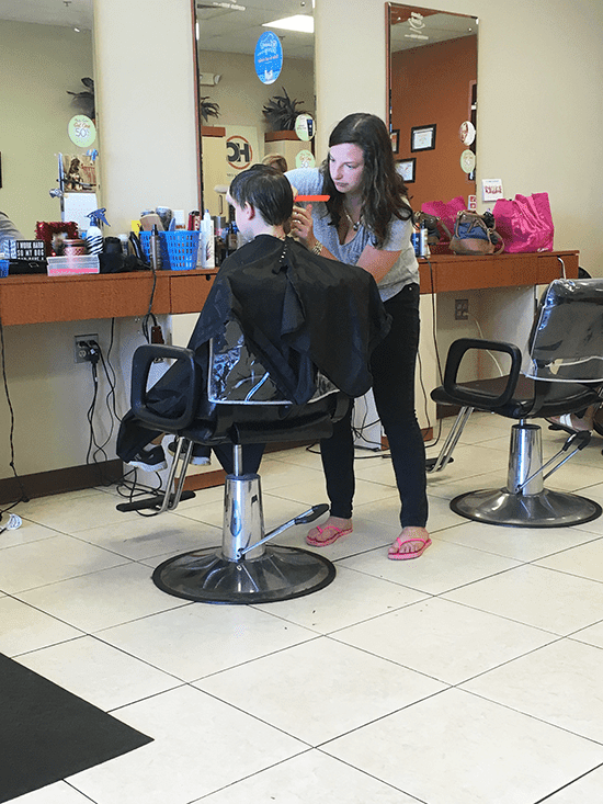 Share-A-Haircut with the Hair Cuttery - 30 Something Mother Runner