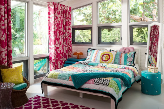 Do Trials on Colors in Your Bedroom with These Simple Bedroom with Colorful Bed Sheet – Decohoms