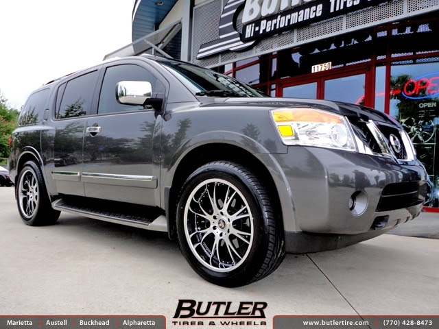 Nissan Armada With 22in Dub X 12 Wheels Exclusively From Butler Tires And Wheels In Atlanta Ga